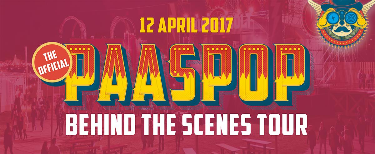 Banner Paaspop Rondleiding